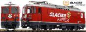 LGB 28446 E-Lok Ge 4/4 II Glacier Express RhB | mfx/DCC Sound | Spur G