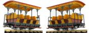 ausverkauft | LGB 30431 Personenwagen 1.Kl. Grizzly Flats | Spur G