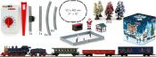 märklin 81845 Weihnachts-Startpackung Dampflok + Güterzug | 230V | Spur Z