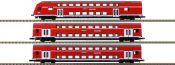 märklin 87297 Doppelstockwagen-Set Höllentalbahn DB   Spur Z