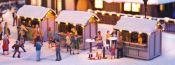 NOCH 65610 Weihnachtsmarkt | Kombi-Set | Spur H0