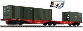 ACME AC90165 Containertragwagen Sggrss 80 Bundeswehr DB AG | DC | Spur H0 online kaufen