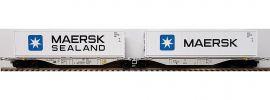 ACME AC90166 Containertragwagen Sggmrss 90 MAERSK AAE   DC   Spur H0 online kaufen