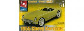 AMT 31960 Chevy Corvette 1955 | Auto Steck-Bausatz 1:25 online kaufen