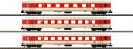 ARNOLD HN4304 3-tlg. Set Reisezugwagen Jaffa ÖBB | Spur N online kaufen