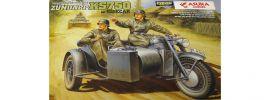 ASUKA 24004 Dt. Motorrad Zündapp KS 750 | Militaria Bausatz 1:24 online kaufen