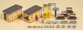 Auhagen 11452 Bahnhofsausstattung Bausatz 1:87 online kaufen