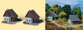 Auhagen 14452 Fachwerkhäuser 2 Stück Bausatz Spur N online kaufen