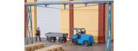 Auhagen 41636 Kleinschlepper mit Anhänger | Bausatz Spur H0 online kaufen