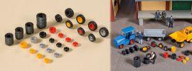 Auhagen 41646 Reifen, Felgen Zubehörset 1:87 online kaufen