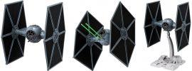 BANDAI 01201 TIE Fighter | Star Wars Snap-Fit Bausatz 1:72 online kaufen