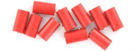 BRAWA 3042 Runde Muffen | 2,5 mm | Rot | 10 Stück online kaufen