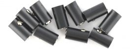 BRAWA 3048 Runde Muffen | 2,5 mm | Schwarz | 10 Stück online kaufen