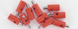 BRAWA 3052 Runde Querlochstecker | 2,5 mm | Rot | 10 Stück online kaufen