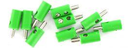 BRAWA 3053 Runde Querlochstecker | 2,5 mm | Grün | 10 Stück online kaufen