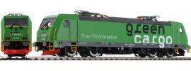 BRAWA 43966 E-Lok Re1428 TRAXX   Green Cargo   DC analog   Spur H0 online kaufen