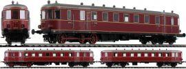 BRAWA 44386 Triebwagen  VT62.9/VB147   DC Analog   BASIC+   DB   Spur H0 online kaufen