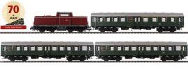 BRAWA 45912 Zugpackung Diesellok BR 212 Personenzug DBK   DC analog   Spur H0 online kaufen