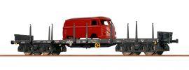 BRAWA 47117 Rungenwagen Rmms 663 DB | DC | Spur H0 online kaufen