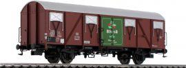 BRAWA 47273 Güterwagen Glmhs 50 Bluna DB | DC | Spur H0 online kaufen