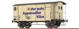 BRAWA 47860 Güterwagen Gklm Appenzeller SBB | DC | Spur H0 online kaufen