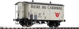 BRAWA 47872  Güterwagen K2 | DC | SBB | Biere du Cardinal | Spur H0 online kaufen