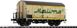 BRAWA 47976 Güterwagen Hkms Malimo DR | DC | Spur H0 online kaufen