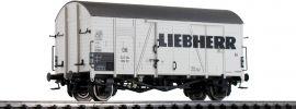 BRAWA 47989 Güterwagen Gms 30 Liebherr DB | DC | Messe 2020 | Spur H0 online kaufen