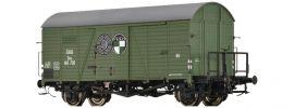 BRAWA 47972 Ged. Güterwagen Gms Steyr Puch | ÖBB | DC | Spur H0 online kaufen