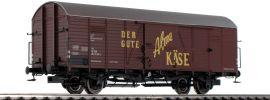 BRAWA 48724 Güterwagen Hbcs-w Alma Käse | ÖBB | DC | Spur H0 online kaufen