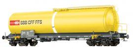 BRAWA 48776 Kesselwagen Zas | DC | SBB | Wasserwagen | Spur H0 online kaufen