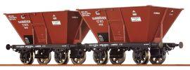 BRAWA 48802 Güterwagen Set 2-tlg. Otw Saarbrücken KPEV | DC | Spur H0 online kaufen