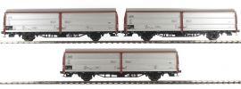 BRAWA 48950 3-teiliges Set Schiebewandwagen Hbis 299 | DB | Spur H0 online kaufen