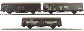 BRAWA 48952 3-teiliges Set Schiebewandwagen Hbis 297/299 | DB | Spur H0 online kaufen