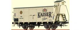 BRAWA 49084 Ged. Güterwagen G Kaiser Bier ÖBB | DC | Spur H0 online kaufen