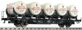 BRAWA 49104 Behältertragwagen Dortmunder Union Bier | DB | DC | Spur H0 online kaufen