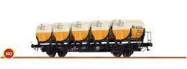 BRAWA 49111 Behältertragwagen Lbs589 + Ddikr621 Stern Export DB | Spur H0 online kaufen