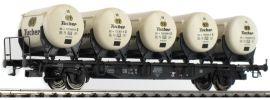 BRAWA 49112 Behältertragwagen BTmms58 + Ddikr621 Tucher DB | Spur H0 online kaufen
