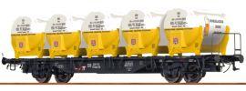 BRAWA 49115 Behälterwagen BTmms 58 Dinkelacker Biere | DB | Spur H0 online kaufen