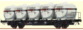 BRAWA 49121 Behältertragwagen Lbs589 Texaco DB | DC | Spur H0 online kaufen