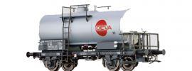 BRAWA 49253 Kesselwagen Z [P] | DC | ÖBB | OEVA | Spur H0 online kaufen
