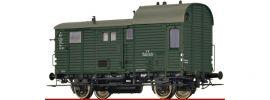 BRAWA 49408 Güterzuggepäckwagen Pwg pr 14 BBÖ | DC | Spur H0 online kaufen