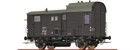 BRAWA 49409 Güterzuggepäckwagen M SNCF | DC | Spur H0 online kaufen