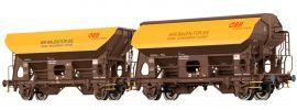 BRAWA 49527 Güterwagen-Set 2-tlg. Schotterwagen ÖBB | DC | Spur H0 online kaufen
