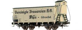 BRAWA 49737 Güterwagen G Brauerein A.G. Wien | BBÖ | DC | Spur H0 online kaufen