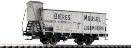 BRAWA 49758 Bierwagen G10 | DC | CFL | Mousel Bieres | Spur H0 online kaufen
