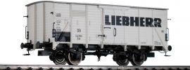 BRAWA 49802 Ged. Güterwagen G10 Liebherr DB | DC | Spur H0 online kaufen
