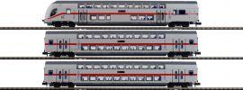 BRAWA 64507 IC-Doppelstockwagen-Set 3-tlg. TWINDEXX Vario DB | Spur N online kaufen
