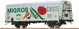 BRAWA 67114 Kühlwagen UIC Migros | FS | Spur N online kaufen