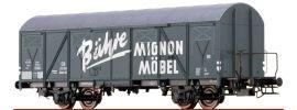 BRAWA 67806 Gedeckter Güterwagen Glmhs 50 Bähre Mignon Möbel DB | Spur N online kaufen